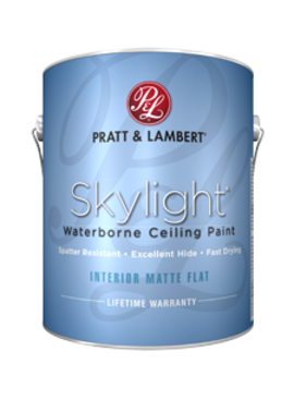 PRATT&LAMBERT Skylight Ceiling Paint Soft White 1 Gallon