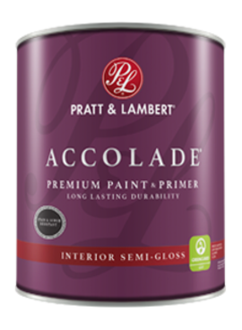 PRATT&LAMBERT Accolade SEMI-GLOSS Quart