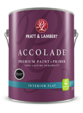 PRATT&LAMBERT Accolade FLAT Gallon