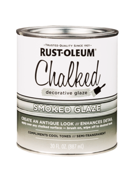 CHALKED SMOKE GLAZE QUART