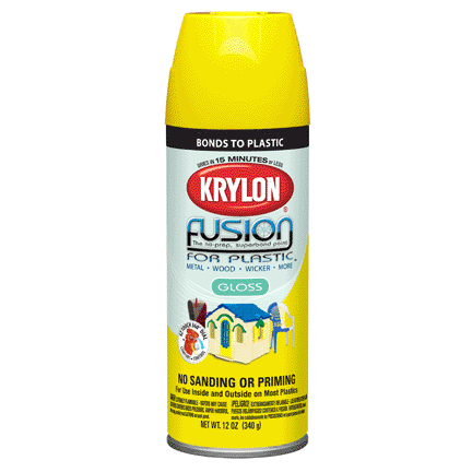 KRYLON PAINTS Krylon Fusion for Plastic (Soon to be Discontinued))