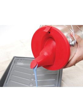 POUR & STORE PAINT LID GALLLON