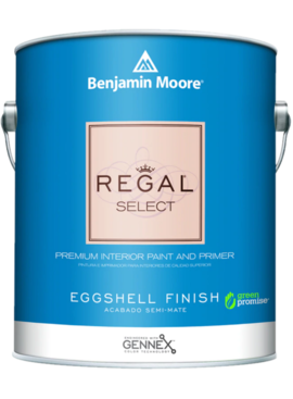 BENJAMIN MOORE 0549  001 REGAL SELECT EGGSHELL -GALLON
