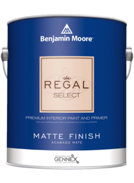BENJAMIN MOORE 0548 001 REGAL SELECT MATTE- GALLON