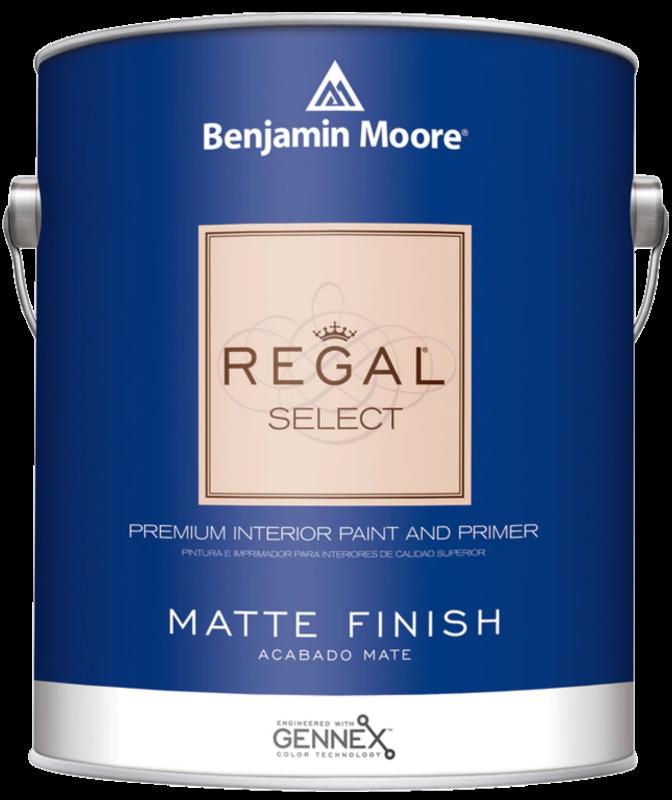 BENJAMIN MOORE 0548 004 REGAL SELECT MATTE - QUART