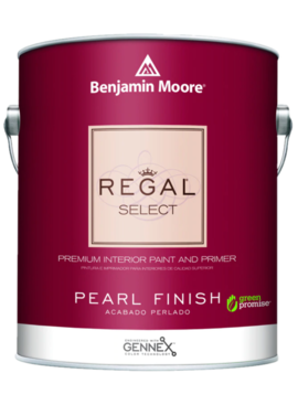 BENJAMIN MOORE 0550 004 REGAL SELECT PEARL- QUART