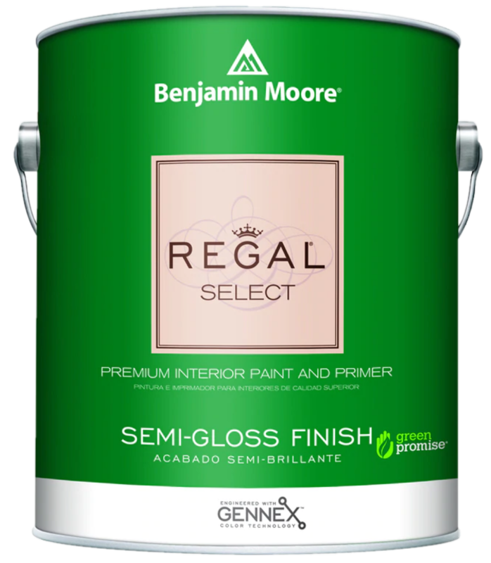 BENJAMIN MOORE 0551 001 REGAL SELECT SEMI GLOSS- GALLON