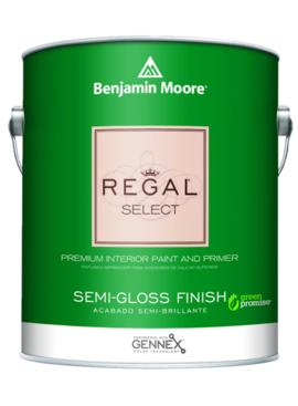 BENJAMIN MOORE 0551 004 REGAL SELECT SEMI GLOSS- QUART