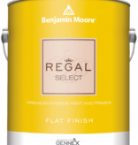 BENJAMIN MOORE 0547 004  REGAL SELECT INTERIOR FLAT  QUART