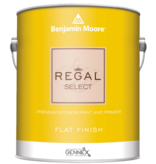 BENJAMIN MOORE 0547 001 REGAL SELECT FLAT- GALLON
