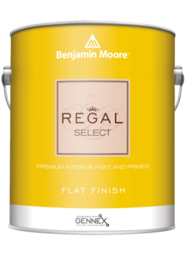 BENJAMIN MOORE 0547 001 REGAL SELECT FLAT- GALLON