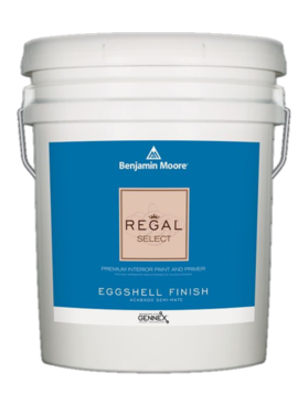 BENJAMIN MOORE REGAL SELECT EGGSHELL  5 GALLON