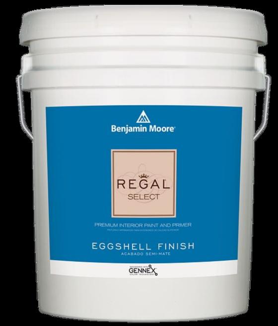 BENJAMIN MOORE 0549  001 REGAL SELECT EGGSHELL - 5 GALLON