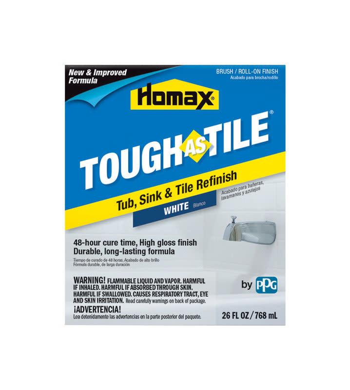 26 FL OZ TOUGH AS TILE/TUB & TILE ONE-PART REFINISHING PAINT WHITE