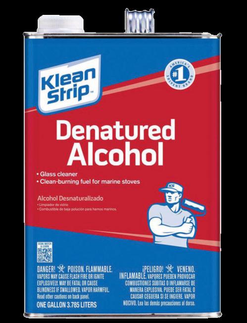 GAL KLEAN-STRIP S-L-X DENATURED ALCOHOL