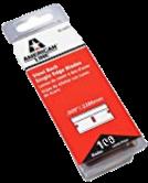 American Line 1.5 in. L x 0.009 in. High Carbon Steel Single Edge 100 pc. Ra