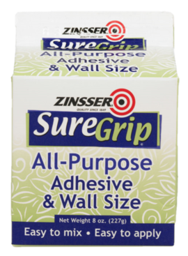 Rust-Oleum 8OZ SUREGRIP POWDER ALL-PURPOSE ADHESIVE & WALL SIZE
