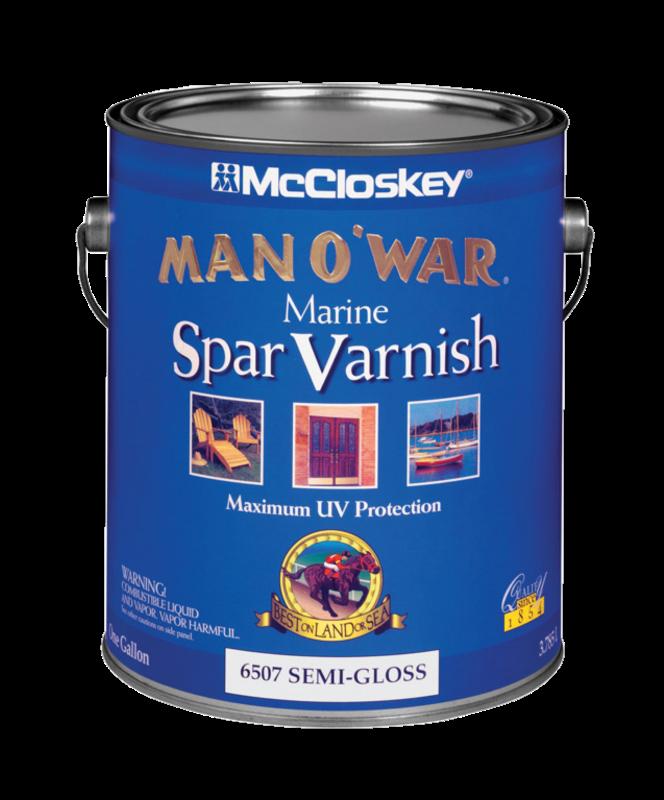 MAN O WAR 80-6507 VOC SE MI-GLS MARINE SPAR VARNS - GAL