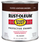 RUST-OLEUM CORPORATION RUST-OLEUM 7775730 GLOSS LEATHER BROWN - .5PT