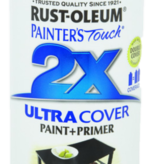 12OZ PAINTERS TOUCH ULTRA COVER 2X SEMI-GLOSS BLACK