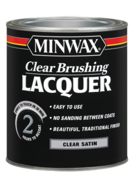 11OZ CLEAR SEMI-GLOSS LACQUER AEROSOL