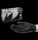 Black Nitrile Glove Plus