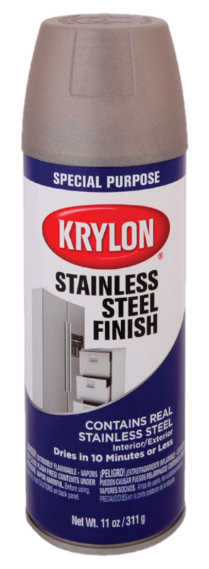 KRYLON STAINLESS STEEL FINISH - 11OZ AEROSOL