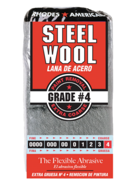 STEELWOOL #4 12PK