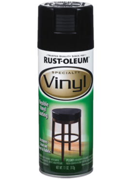 RUST-OLEUM CORPORATION SPRYPAINT VINYL BLK 11OZ