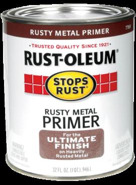 Rust-Oleum QT STOPS RUST RUSTY METAL PRIMER