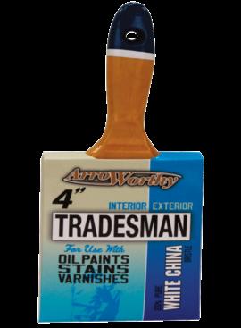 ARROWORTHY Arroworthy Tradesman 4 in. W Flat Paint Brush
