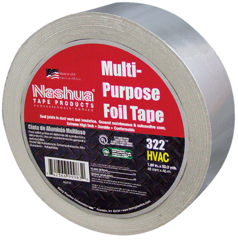 "NASHUA FOIL TAPE MP 1.89""X50.3YD"