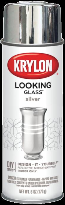 KRYLON LOOKING GLASS MIRROR LIKE PAINT - 8OZ AEROSOL