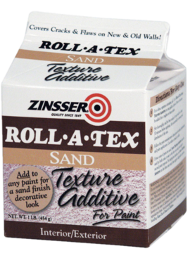 1LB ROLL-A-TEX SAND TEXTURE ADDITIVE
