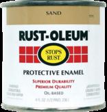 Rust-Oleum 1/2PT STOPS RUST SAND PROTECTIVE ENAMEL
