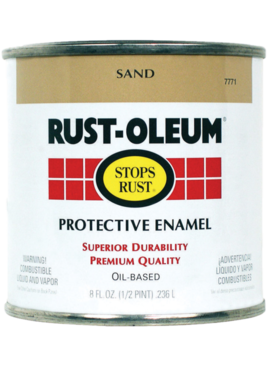 1/2PT STOPS RUST SAND PROTECTIVE ENAMEL