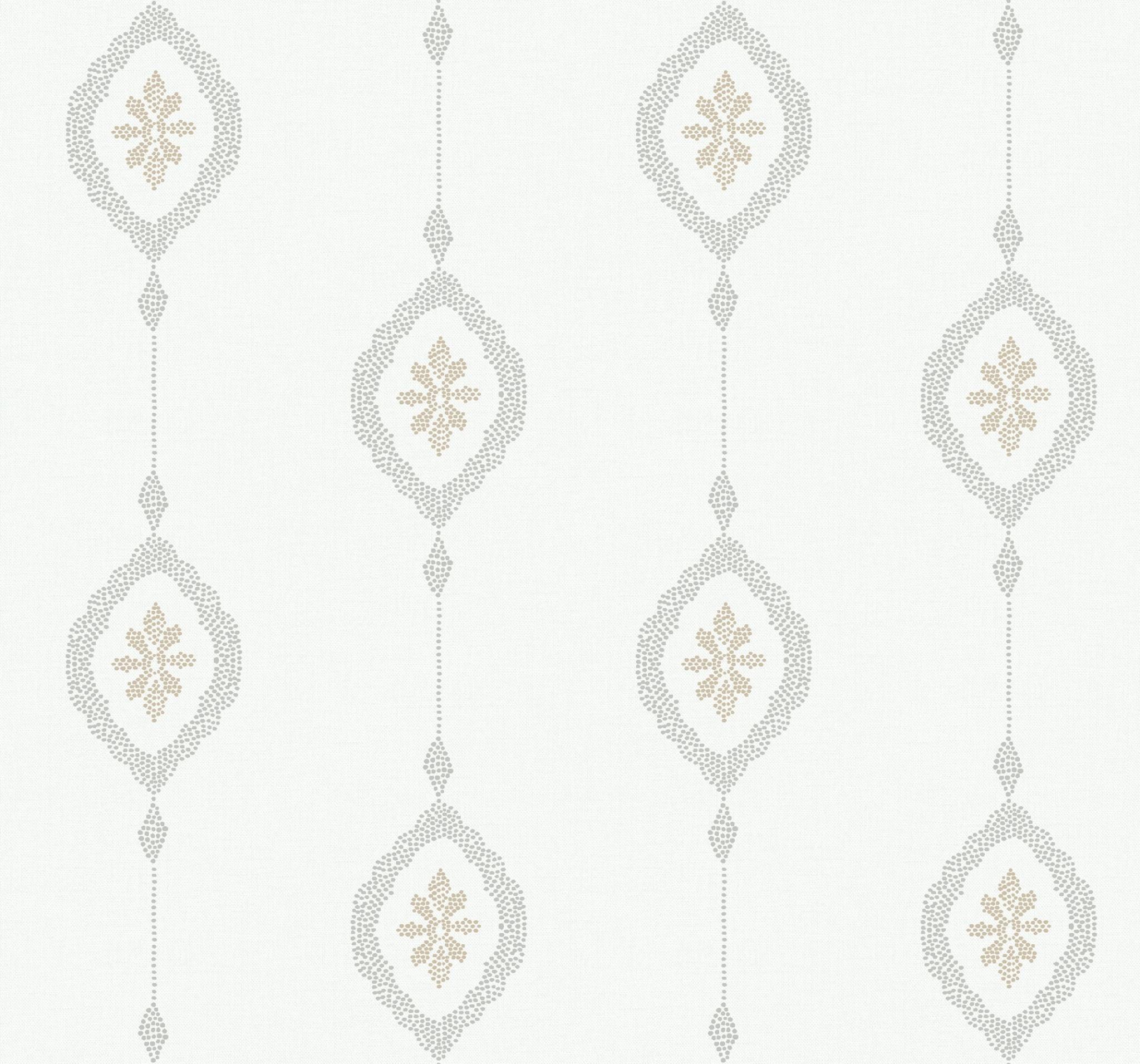 Wallquest Sand Dollar Stripe