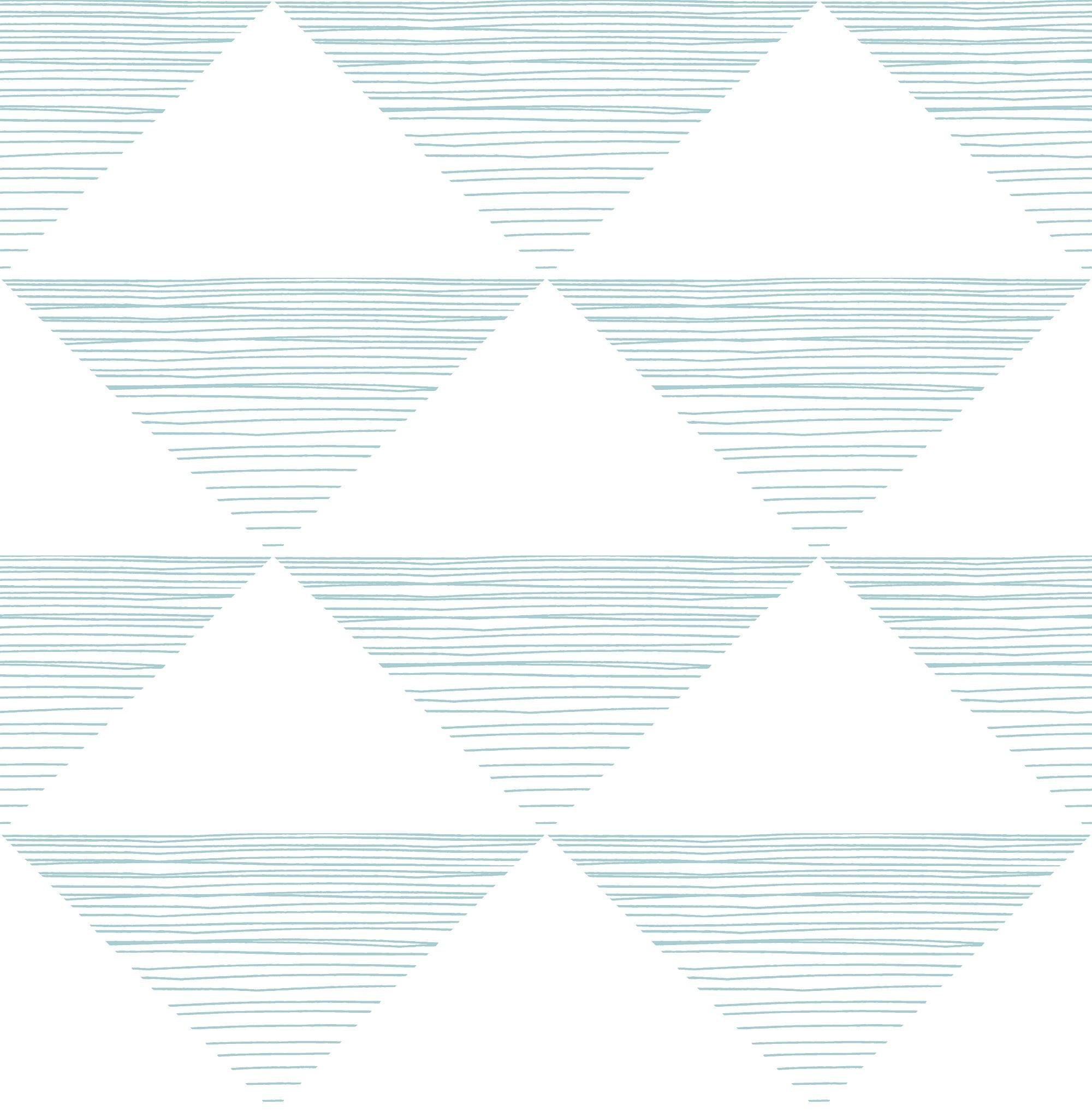 Wallquest Geo Stripe