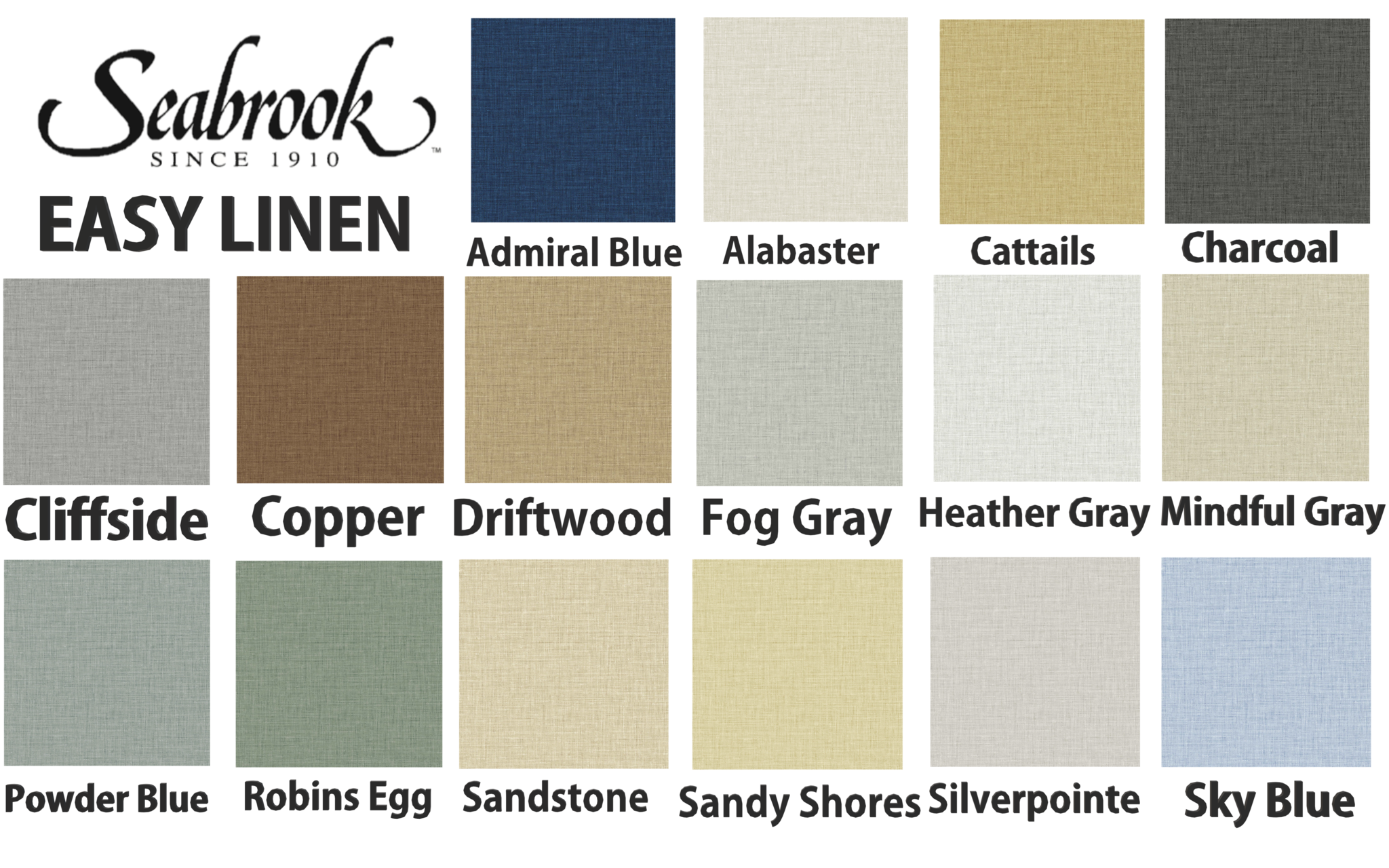 easy linen colors