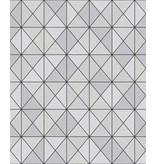 Wallquest Metallic Geo