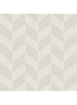 Wallquest Boho Chevron Stripe-Stringcloth