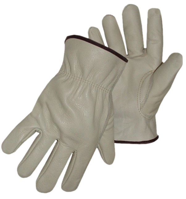 DRIVER GLOVES COWHIDE LG