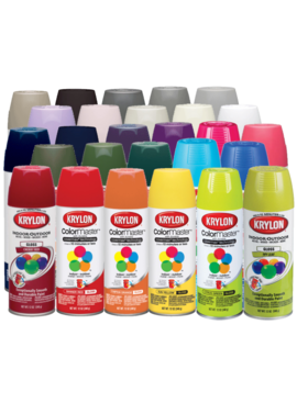 KRYLON PAINTS Krylon ColorMaster 12oz Spray Paint
