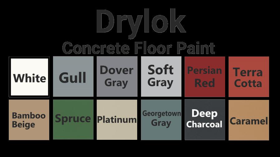 Drylok Latex Concrete Floor Paint
