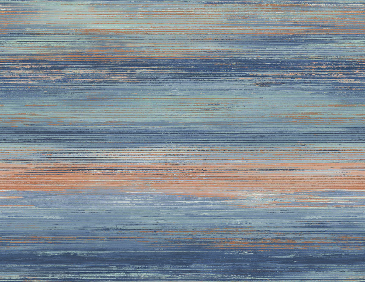 Seabrook Desighns Sunset Stripes