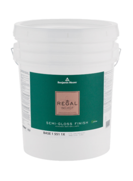 REGAL SELECT SEMI GLOSS 5 GALLON