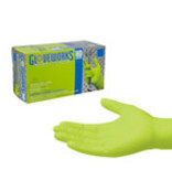 GLOVEWORKS HD GREEN NITRILE DIAMOND GRIP X-LARGE
