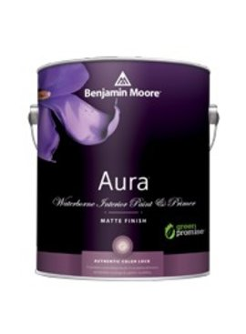 BENJAMIN MOORE 0522 001 AURA MATTE FINISH- GALLON