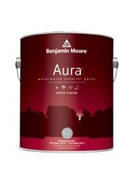 BENJAMIN MOORE 0526 004 AURA SATIN FINISH- QUART