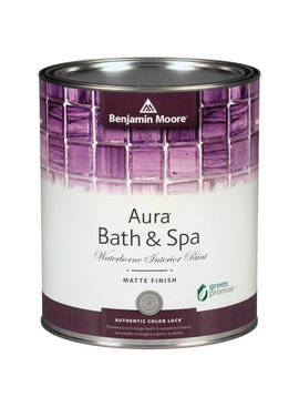 BENJAMIN MOORE 0532 001 AURA BATH  SPA MATTE- GALLON
